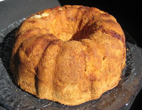 Jewish Apple Cake, gluten-free