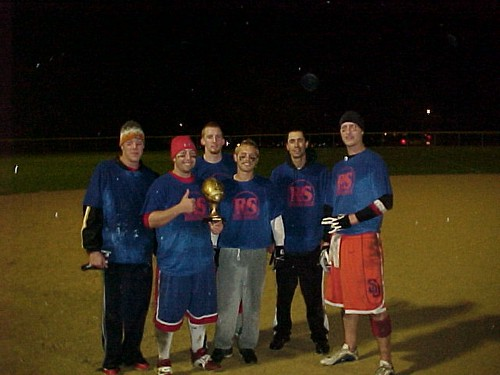 2009 Adult Flag Football Champions, R&S Insurance (7-0)