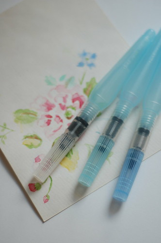 pentel waterbrushes