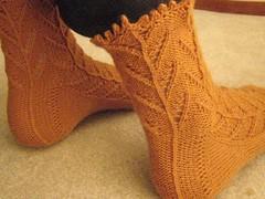Cornstalk socks