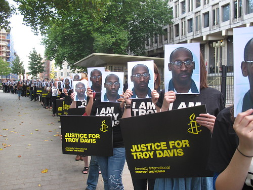 Day for Troy Davis - London