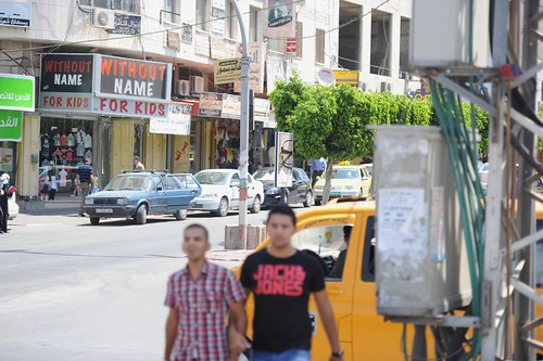 Streets of Jenin, West Bank