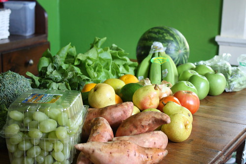 Farmers Market Basket Organic 9/17