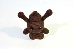 Little $h!t Head (SenorMysterioso) Tags: cute toy hand head handmade crochet smith made poop lucky shit kawaii monte amigurumi shithead dunny munny a rolondo montobon