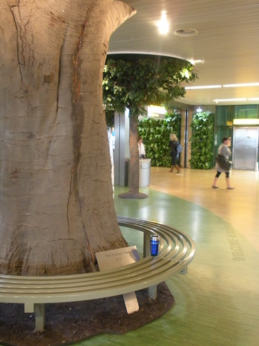 Schiphol's little fake forest