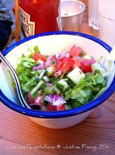 Salad - Honest Burgers, Brixton