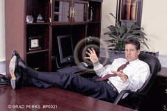 Businessman with his feet on the desk 01 (TBTAOTW2011) Tags: man black men feet leather businessman work table relax office shoes dress desk room tie business suit sole