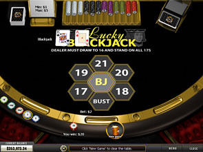Lucky Blackjack Strategy
