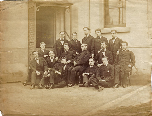 Unidentified group of men. 1870s?