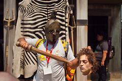 SPARTICUS (espressoDOM) Tags: headless sandiego cosplay sword comiccon con starz gladiator sparticus sdcc nerdprom sandiegocomiccon zebraprint sdcc2011 theconfloor