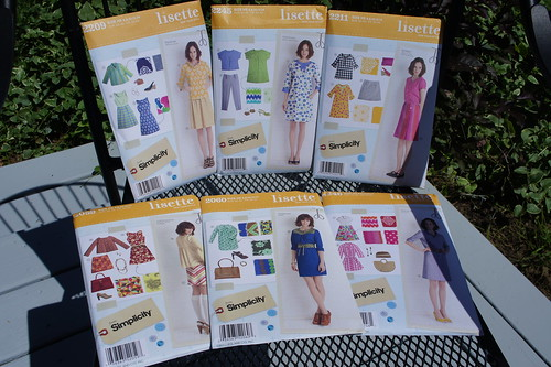 All of my Lisette patterns