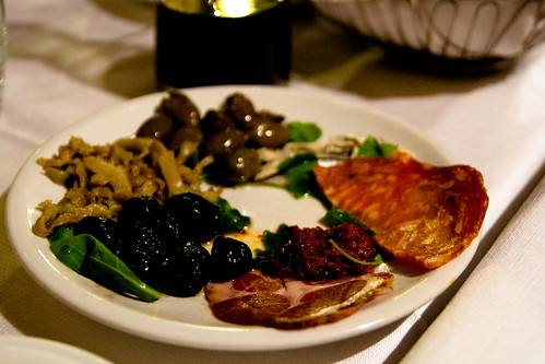 House Antipasto at Sacro e Profano in Rome