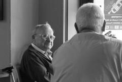 omino carino (g_u) Tags: people bw bar gente bn persone amici gu bianco caff nero ugo provenza anziani vaison
