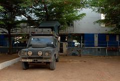 Landy at Blue Nile Sailing Club, Khartoum