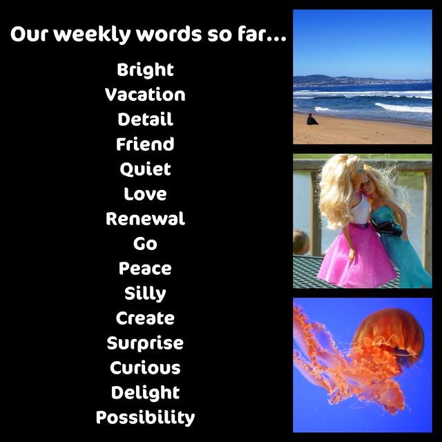 Weekly Words So Far Bright