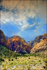 Red Rock Canyon (*Arianwen*) Tags: redrockcanyon usa nature landscape desert nevada canyon heat arianwen mygearandme