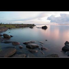 DSC_6033 (Stijn Willekens) Tags: sunset lake sweden vnern d700