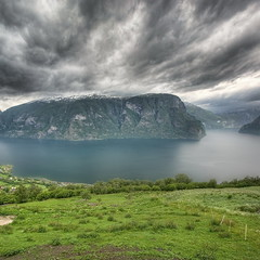 aurlandsfjorden (Mariusz Petelicki) Tags: norway norge fiord hdr aurlandsfjorden norwegia vertorama