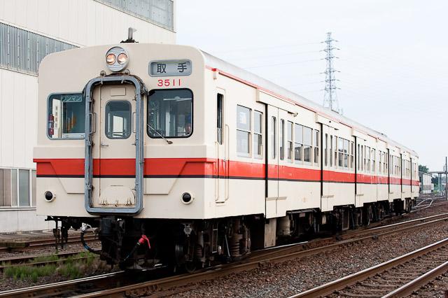 関東鉄道常総線 キハ350形 キハ3511+キハ358