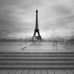 Gustave Eiffel has gone but the tour is still here..... (Moises Levy L) Tags: longexposure paris torre tour eiffel toureiffel trocadero 1740mm 2minutes canon5dmll