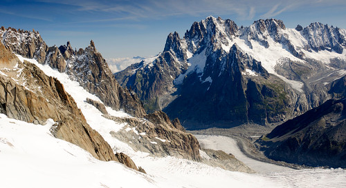From Chamonix to Courmayer - Aiguille du Midi 35