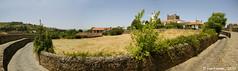 Una granja dentro de la muralla (Bragança, Portugal)