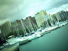 Tilt-Shift: Along Chicago's Lakefront 10 (spooniep) Tags: chicago retro grungy tiltshift 5000t neingrenze