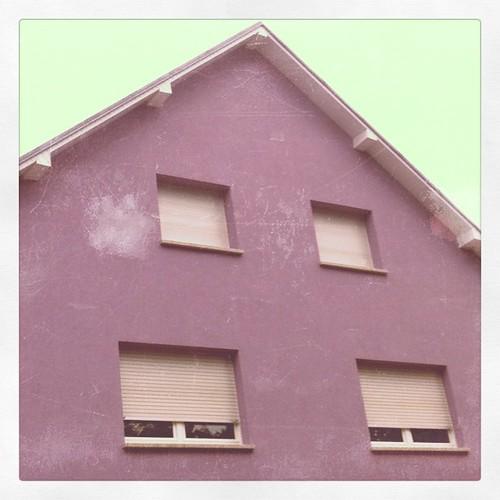 luxembourg: land der lilafarbenen häuser.