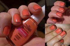 Colorama: Grande Atração (ana-nails) Tags: laranja nails manicure nailpolish unhas varnish esmalte colorama respeitávelpúblico grandeatração
