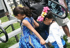 Children Holding Hands (shaire productions) Tags: sf life sanfrancisco california city boy red people cute girl pose children island child dancing action sweet folk stage traditional group innocent dancer number dresses gathering hawaiian holdinghands moment tradition aloha polynesian numerous