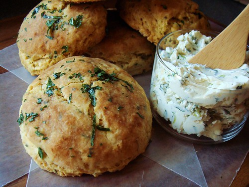 Buttermilk Biscuits with Parsley & Sage