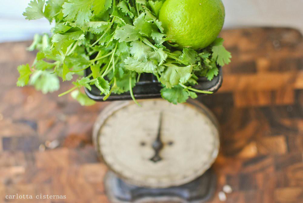 cilantro + limes