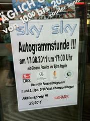 Autogrammstunde mit Giovanni Federico und Björn Kopplin (VfL Bochum) - und Sky-Angebot bei Saturn
