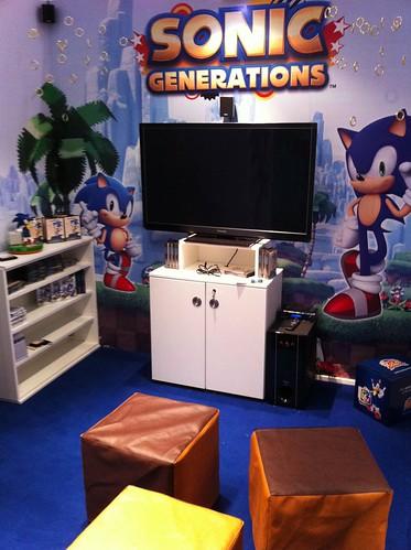 Sonic Generations Gamescom 2011