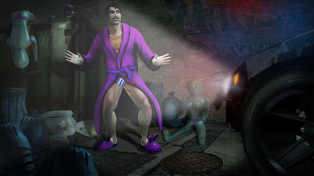 Saints Row: The Third - Back alley bust