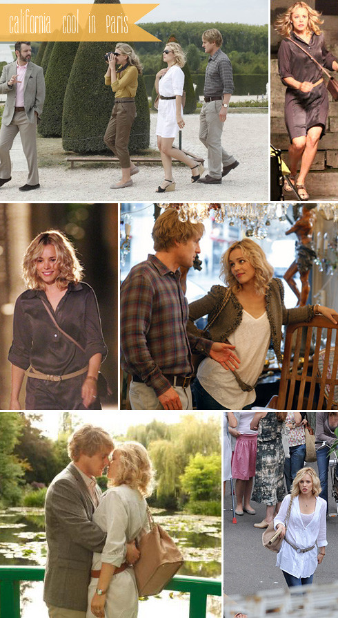 Rachel McAdams Midnight in Paris Wardrobe Clothes
