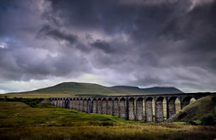 Ribblehead Viaduct (mrcheeky2009) Tags: sky clouds flickr yorkshire dramatic award viaduct drama hdr lanscape yorkshiredales flickaward