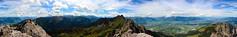 Drei Schwestern - 360 (go.goflo) Tags: panorama mountains alps berge liechtenstein 360 vorarlberg frstensteig dreischwestern
