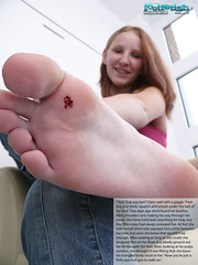 BigSis03 (gtsblade) Tags: feet socks foot sock squish crush giantess gts shrink shrunkenman