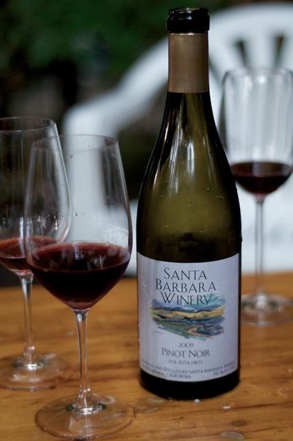 2009 Santa Barbara Winery Pinot Noir, Sta. Rita Hills