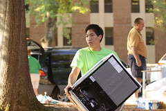 Opening Day 2011 (William & Mary Photos) Tags: college virginia day mary william move va williamsburg opening williamandmary movein wmorientation11 wmmovein