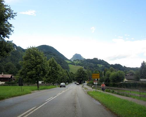 Einfahrt nach Oberaudorf