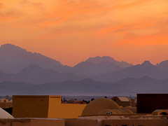 Mountains And Rooftops (Oldt1mer - Keith) Tags: sunset holiday mountains clouds rooftops egypt layers elgouna mygearandme mygearandmepremium mygearandmebronze mygearandmesilver mygearandmegold mygearandmeplatinum mygearandmediamond