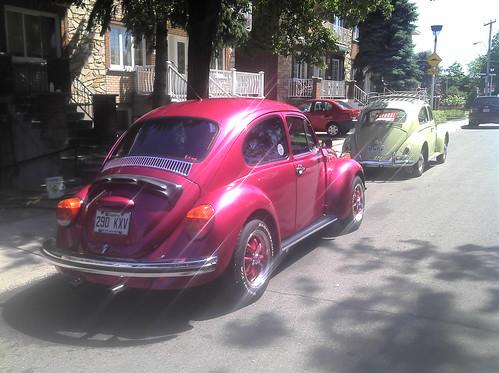 L'auto du jour : duo de vieilles Cox'