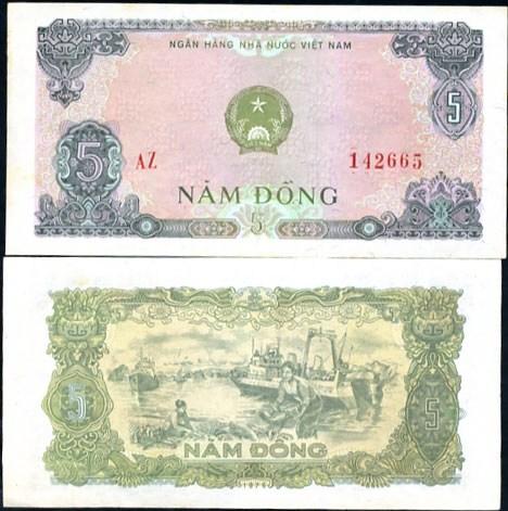 5 Dong Vietnam 1976, Pick 81