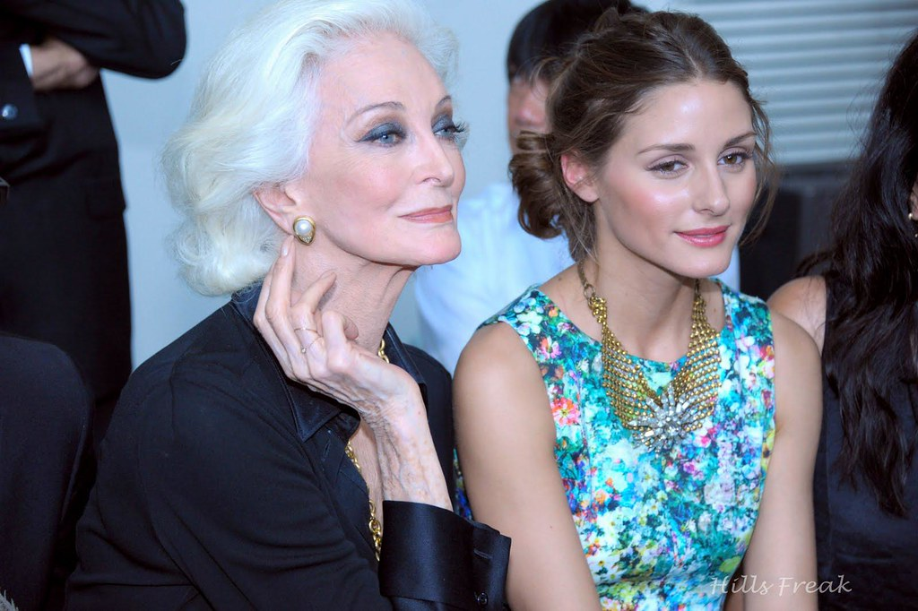 Olivia Palermo Carmen dell'Orefice Stephane Rolland