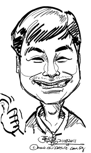 digital live caricature on HTC Flyer for HTC Weekend - Day 2 - 36