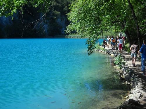 Blue Water Stroll, Plitvice National Park, Croatia