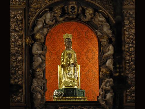 Camarín de la Virgen de Torreciudad