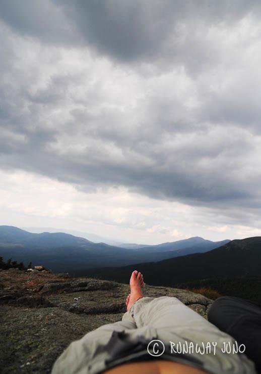 napping at Mt.Pierce